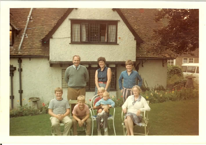 Hussey Family at Southernwood, 1971